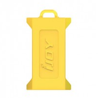 Protection Silicone Double Accus Ijoy 20700/21700 - Jaune